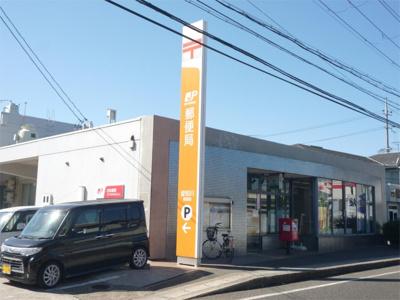 愛知川郵便局(568m)