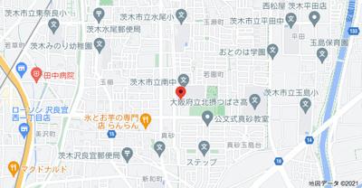 【地図】プレミール真砂