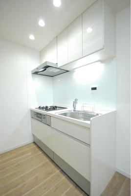 浄水機能付きのシステムキッチンに交換済みです。