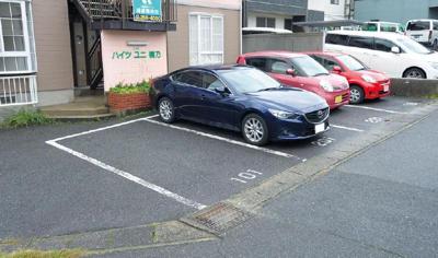 【駐車場】ハイツユニ楠乃