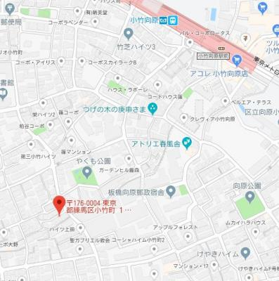 【地図】スエルテ小竹