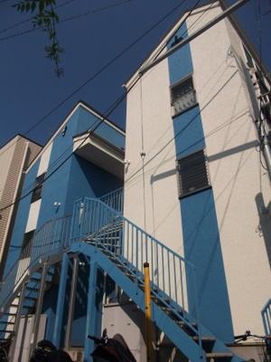 ブルーライン「片倉町」駅より徒歩13分のアパートです。