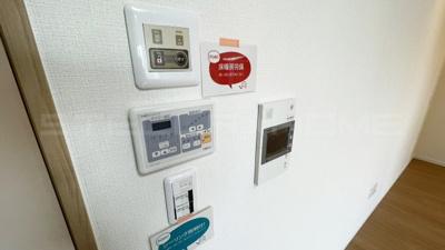 床暖房や照明の設備です。