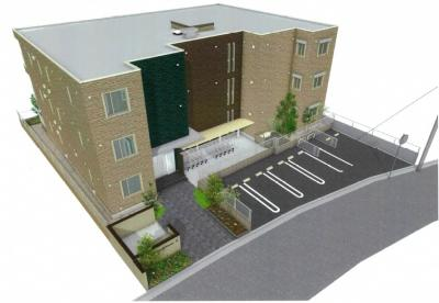 ※完成予定図。実際の建物と異なる場合がございます。