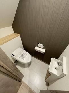 【トイレ】千葉市中央区花輪町 新築一戸建て 外房線鎌取駅