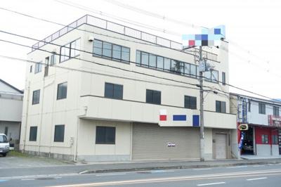【外観】新池島1丁目事務所付き貸工場