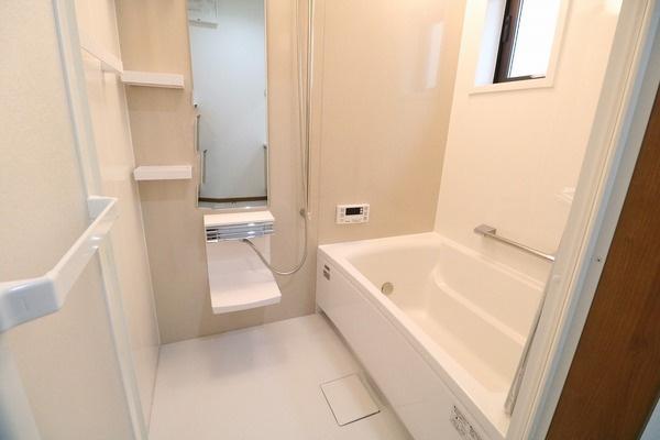 清潔感溢れる浴室♪