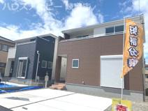 岐阜市茜部本郷 新築建売 令和3年5月完成予定 駐車場並列3台可能 ウォークインクローゼットありの画像