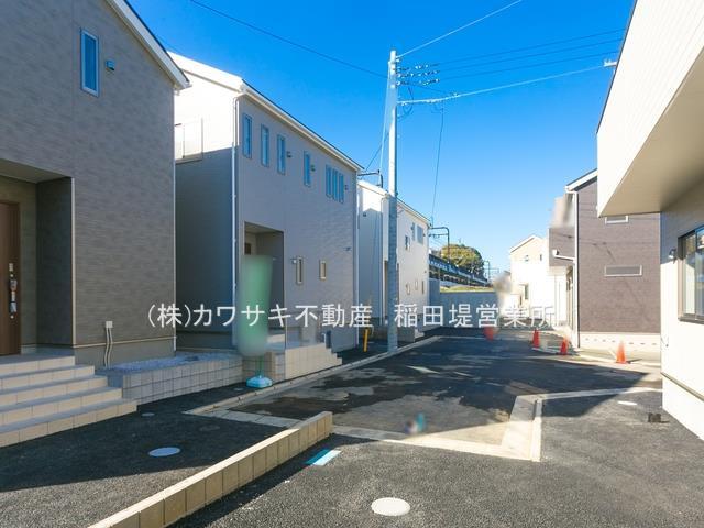 【外観】稲城駅徒歩11分 新築2階建全7棟