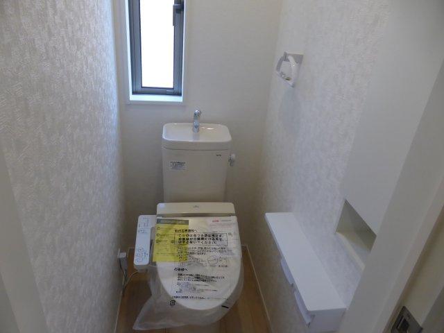 【トイレ】稲城駅徒歩11分 新築2階建全7棟