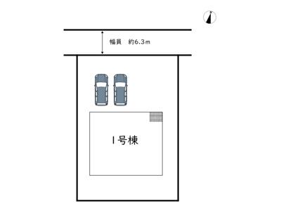 【区画図】姫路市香寺町犬飼/全1棟