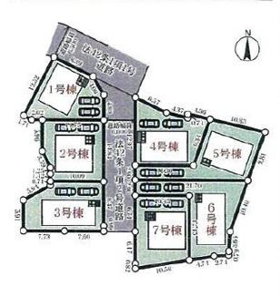 【区画図】神戸市西区玉津町水谷 新築戸建