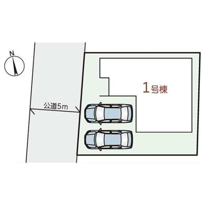 【区画図】神戸市西区長畑町 新築戸建