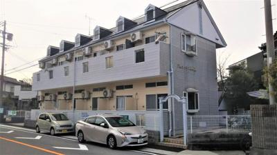 【外観】平成築 岡崎市井内町アパート