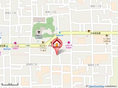 【地図】ユーミーつばきⅡ・
