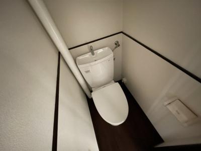 【トイレ】冨士マンション