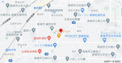 【地図】コート上屋敷 (株)Roots