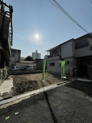 【前面道路含む現地写真】堺東駅 新築戸建