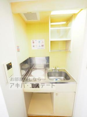 【キッチン】スカイコート西日暮里