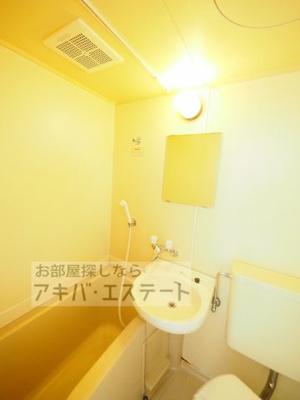 【浴室】スカイコート西日暮里