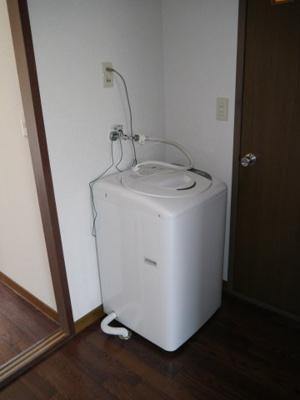 洗濯機使えますがサービス品です