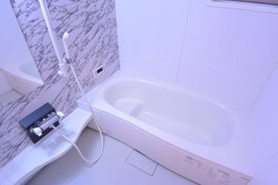 大容量のお風呂です。子供さんと入ってもゆっくりつかれます。