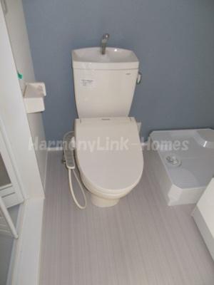 ソレイユ北綾瀬の清潔感のあるトイレです☆