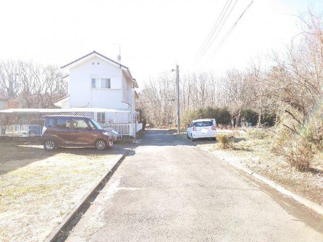 【前面道路含む現地写真】小美玉市先後土地