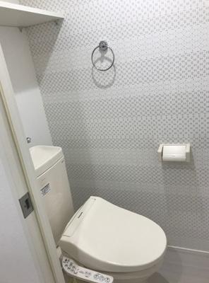 ウイングコート東高円寺のトイレ