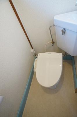 【トイレ】コーポ前谷