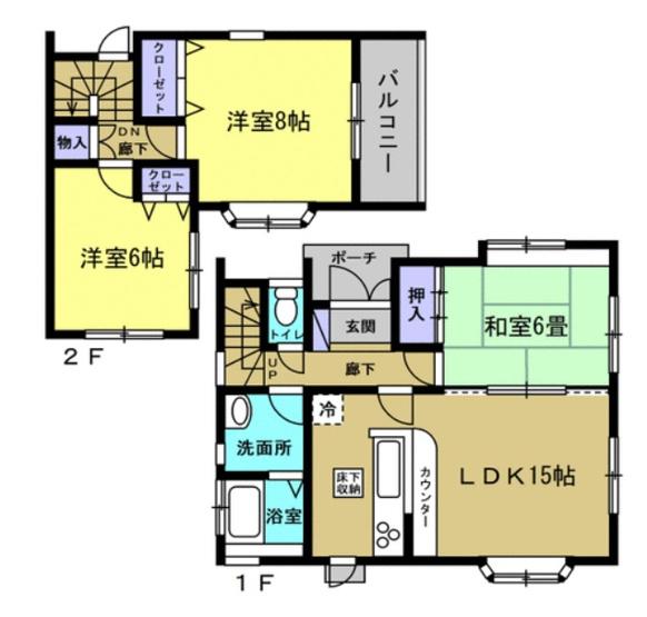 内装リフォーム済みの為即入居可能です。