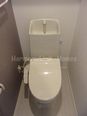 M'哲学堂公園の落ち着いた色調のトイレです☆