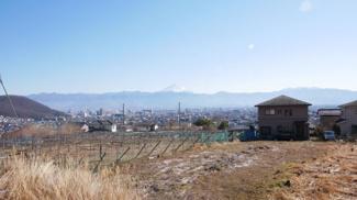 富士山一望の良眺望