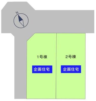 【区画図】中区上島3丁目 新築物件 TOYO