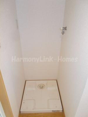 グランマ南砂の室内洗濯機置き場