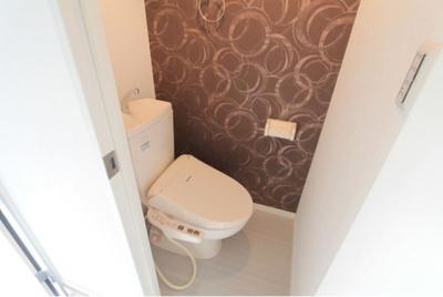 ガーネット高円寺のトイレもきれいです