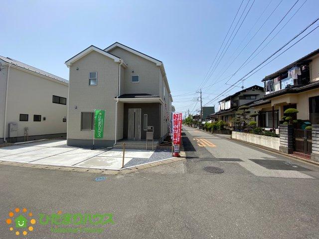 【前面道路含む現地写真】古河市駒羽根 第3 新築一戸建て 01 リーブルガーデン