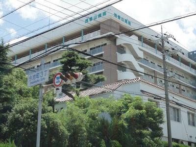 (財)浅香山病院まで723m