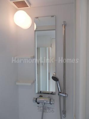 ハーモニーテラス堀ノ内のシャワールーム