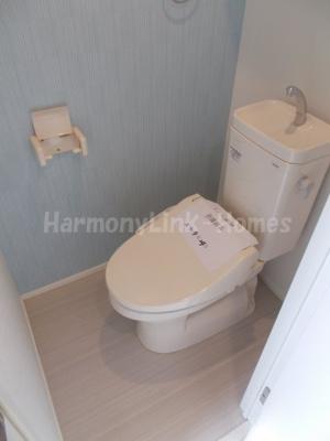 ハーモニーテラス堀ノ内のトイレ