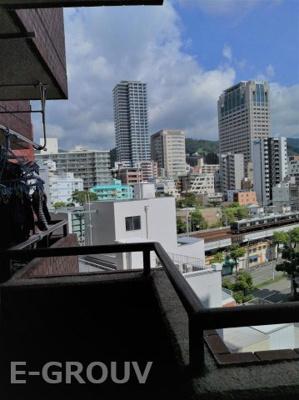 お部屋からの眺望写真です!!