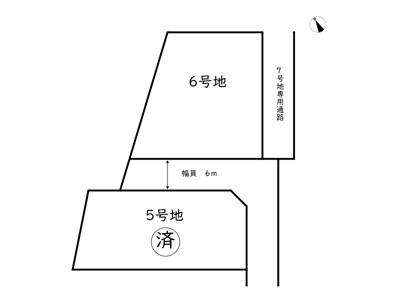 【区画図】姫路市書写 第3期/2区画