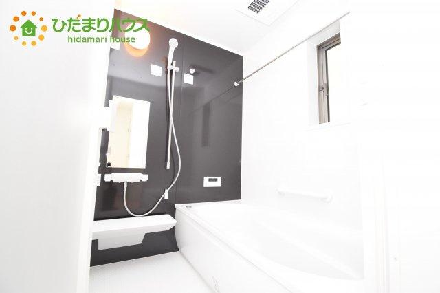 【浴室】伊奈町西小針 第5 新築一戸建て クレイドルガーデン 02