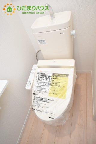 【トイレ】伊奈町西小針 第5 新築一戸建て クレイドルガーデン 02