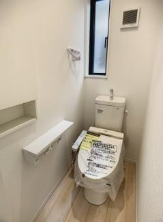 【トイレ】伊豆の国市原木第5 新築戸建 全6棟 (5号棟)