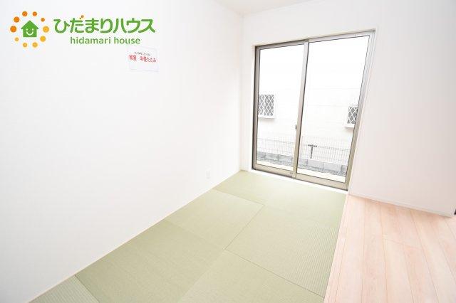 【和室】伊奈町西小針 第5 新築一戸建て クレイドルガーデン 01