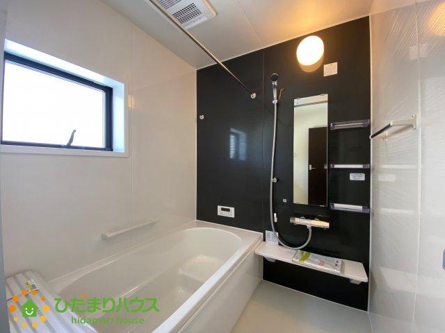 清潔感のある広々浴室はゆったり浸かれて日頃の忙しさから解放してくれます!