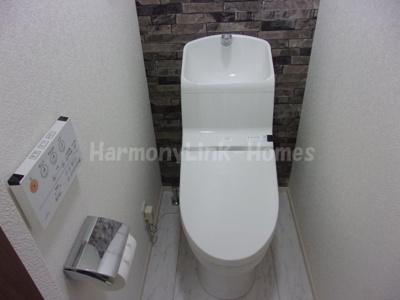 ブルーレジデンス上板橋Ⅱの落ち着いた色調のトイレです☆