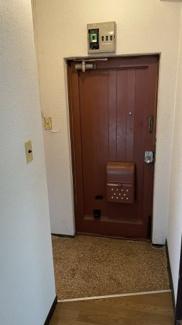 きれいな玄関になります