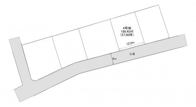【土地図】大崎売り土地